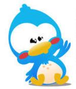 Cartoon Tweet Icons