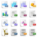 Computer Documents icons