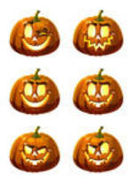 Halloween Pumpkin Emoticons