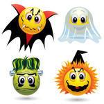 Icon pot emoticons halloween smiley