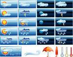 Weather report vector
