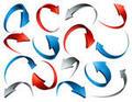 3D arrow icons