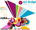 Abstract Web backgrounds