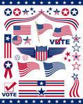 American patriotic icons