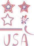 American stars Icons