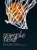 Basketball Basket Vector