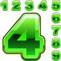 Bold Number Icons