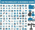 Business Technology signs