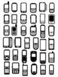 Cell Phones Icons