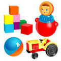 Childrens Toys Icons