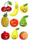 Cool food emoticons