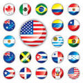 Country Flag Icons Vector