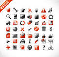 Download Glossy web icons