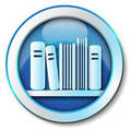 E-book library icons