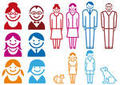 Family pictograms