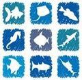 Fish icon sets