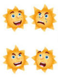 Funny Sun Icons