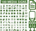 Green Media Signs