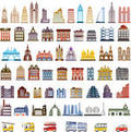 Houses Icons and Buttons