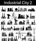 Industrial buildings Buttons