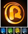 Letter R Icon Design