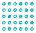 Light Blue Icons