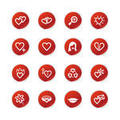 Love Icon Stickers