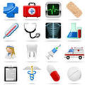 Medical Button Icons