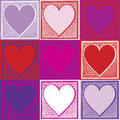 Mothers Day Heart Icons