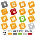 New Slanted Blog icons