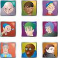 People Faces Avatars