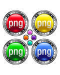 PNG file extension icons