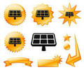 Solar Panel Buttons