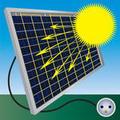 Solar panel icons