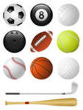 Sports Icon Illustrations