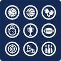 Sports raster image