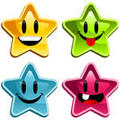 Stars Happy Emoticons