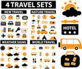 Travel Vacation Icons