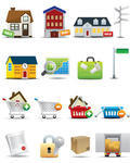 Universal Real Estate icons