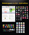 Web graphics template