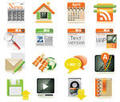 Web page icon set