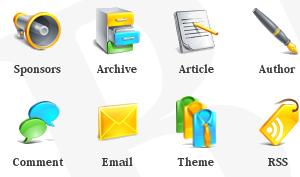 free blog icons